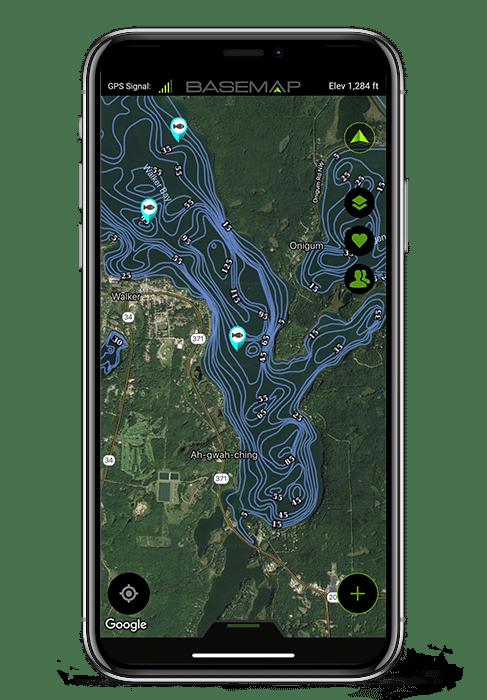 BaseMap Hunting and GPS Maps - Land Ownership Hunting Maps on