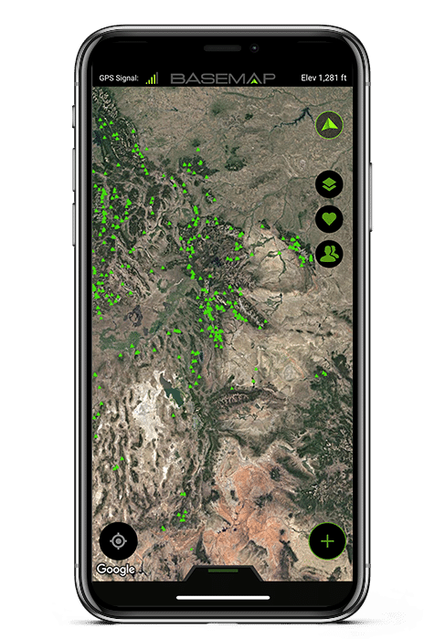 points-of-interest-hiking-hiker-trails-basemap-gps-hunting-app-iphone-x