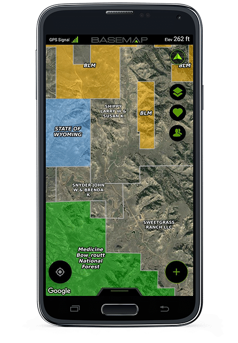 24 Hour Pronghorn Hunt Basemap
