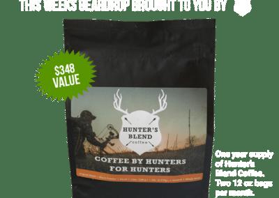 Hunters Blend Coffee – 20 November 2019