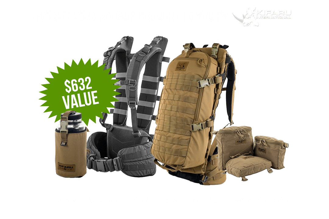 GearDrop Kifaru Back Pack