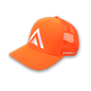 BaseMap Orange Trucker Hat