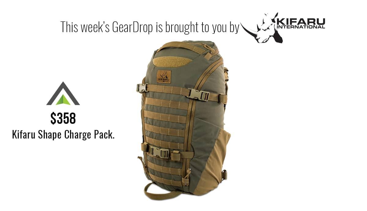 Kifaru Shape Charge Pack