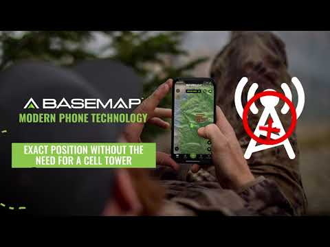 BaseMap Offline Maps – No Cell Service Required