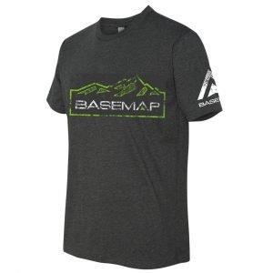 BaseMap Mountain Tee