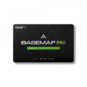 BaseMap Pro – One Year – Digital Gift Card