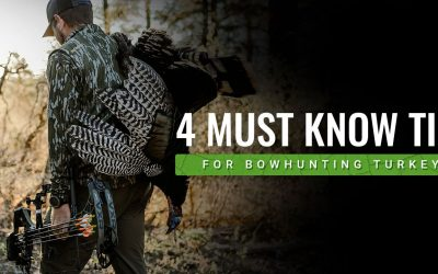 4 Things to Know When Bowhunting Spring Turkeys