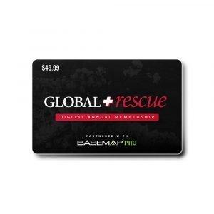 BaseMap Global Rescue Annual Membership